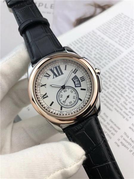 Роскошные часы Марка Cartler мужские повседневные часы из натуральной кожи спортивные наручные часы хронограф часы Montre часы Relojes кварцевые часы