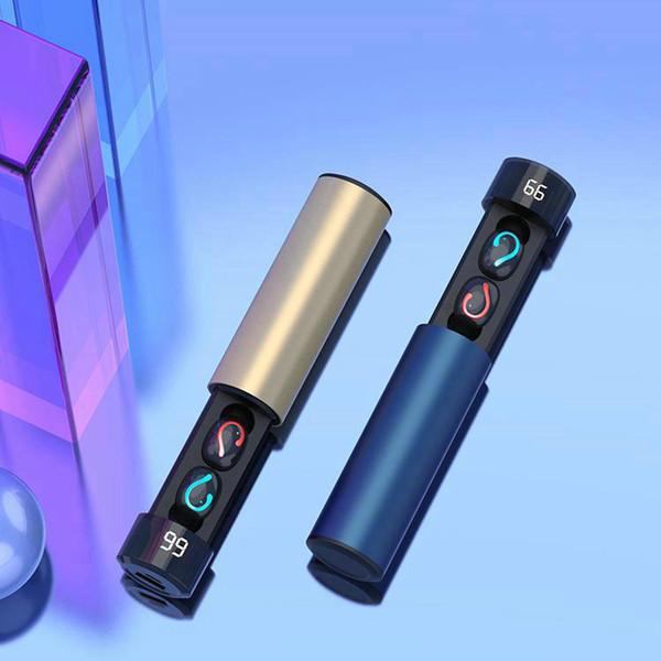 1 шт! Q67 V5.0 TWS наушники IPX5 водонепроницаемый мини беспроводные наушники с батареей