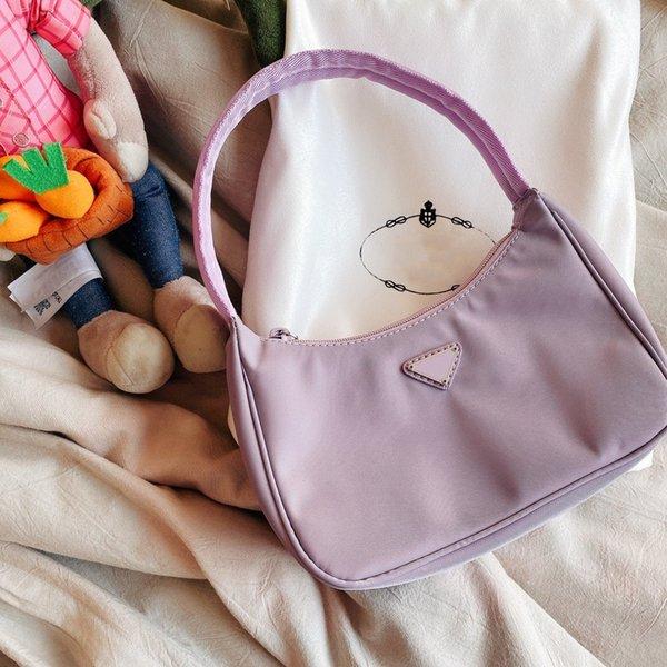 2020 женская роскошная сумка дизайнерская сумка багет нейлон Леди высокое качество мода CFY20042550 фото