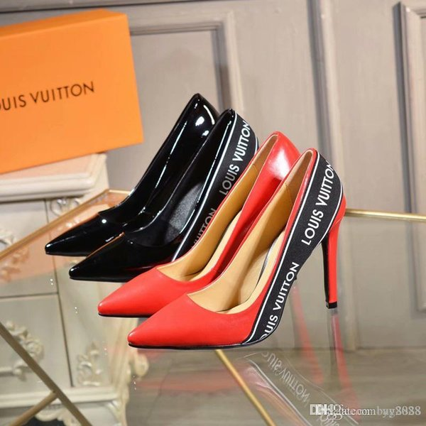 Новая мода женские высокие каблуки Прозрачный материал Мягкий и удобный Высота к
