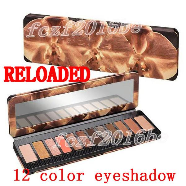Brand eye hadow palette reloaded 12 color eye hadow nude eye hadow makeup beauty palette matte himmer co metic dhl