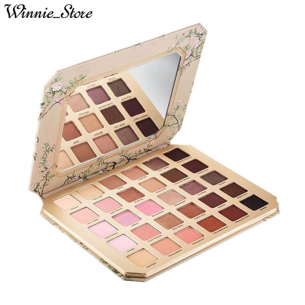 Бесплатная доставка по ePacke! Макияж глаз шоколад Натуральный любовь тени для век коллекция палитра 30 цветов теней для век лучшее качество с подарками