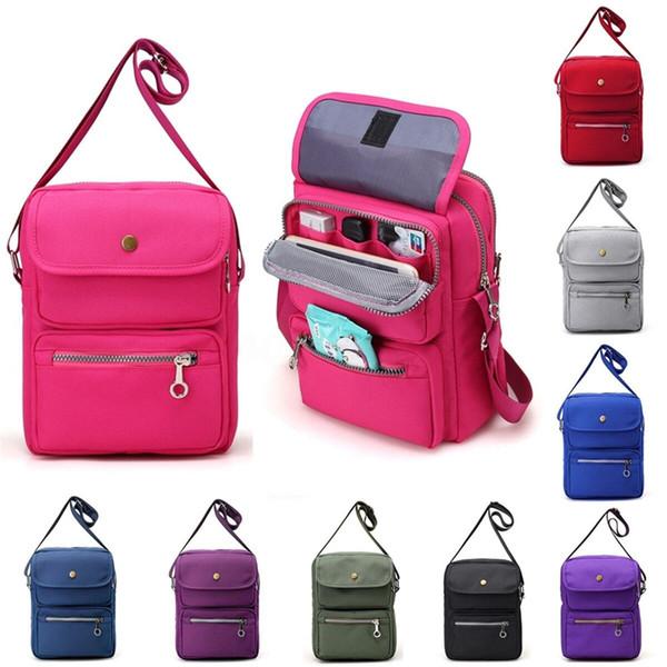 Женская многоцветная сумка Messenger сумка женская нейлон водонепроницаемый одно плечо праздник путешествия сумка для хранения сумка фото