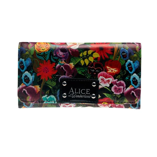 printing wallet female purse lady purses women card holder dft1906 (530124398) photo