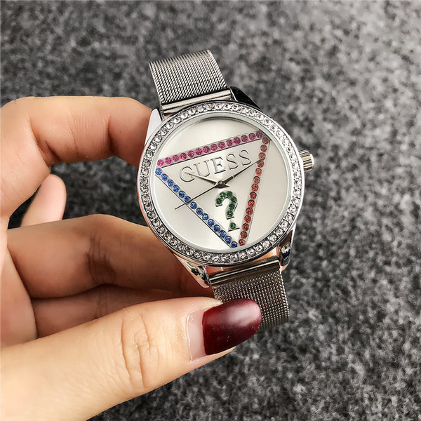 2019 Luxury Famous pandora Women Rhinestone Watches Fashion Luxury Dress m k Ladies Watch kor Dial Man bag DZ GUESSity Watches086