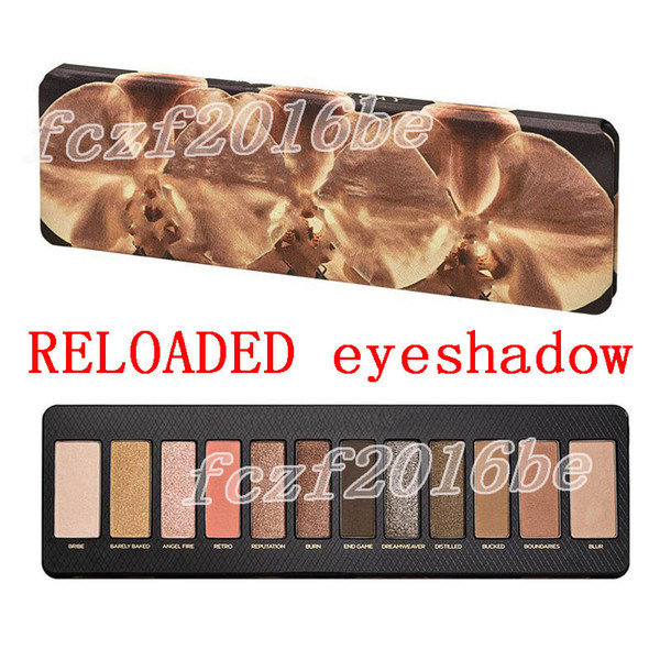 The late t co metic brand eye hadow palette reloaded 12 color eye hadow nude eye hadow makeup beauty palette matte himmer dhl