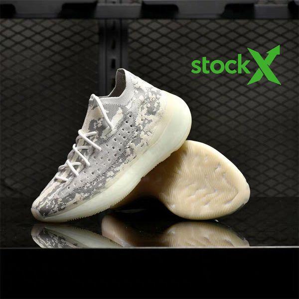 380 Чужеродные Дизайнерские кроссовки Мужчины Женщины Stark Белый цитрина V3 Спортивные кроссовки Chaussures Кроссовки Размер 36-46 фото