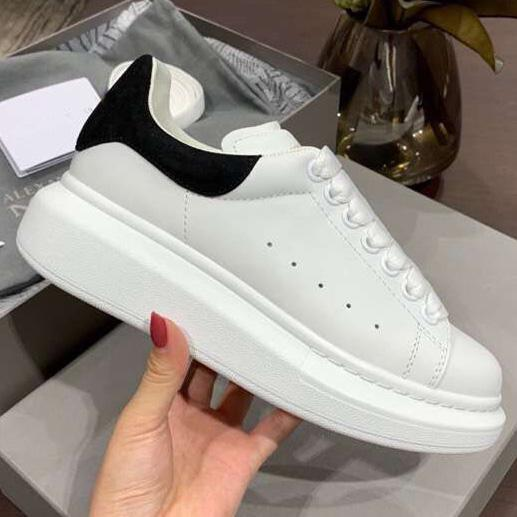 Cheap Casual Shoes Sneakers Platform Fashion Designer Sneaker Shoes Lace-up Leather Shoes With Top Quality Men Women Size 35-45