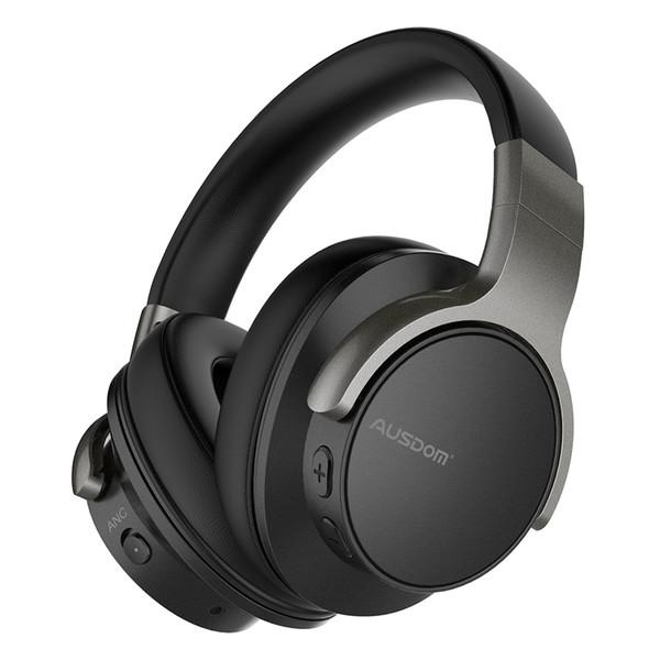 Ausdom Anc8 Активные шумоподавления Беспроводные наушники Bluetooth-гарнитура с Super Hifi Deep B фото