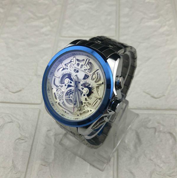 Мужские улучшенные часы с логотипом Автоматический хронограф из нержавеющей ста фото