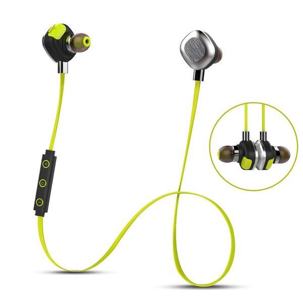 Clearance Sale U5 Plus Bluetooth Headphones Magnetic Aluminum Design apt-X Earphone Noise Canceling NFC Stereo Headset Mic for Sports Gym