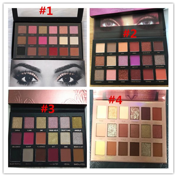 In tockbrand makeup beauty eye hadow 18color eye hadow ro e gold rema tered textured eye hadow palette matte himmer new nude dhl hip