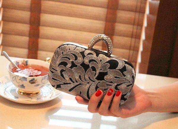designer bags afternoon vintage clutch mini purses 16.5cm*10cm (478238647) photo