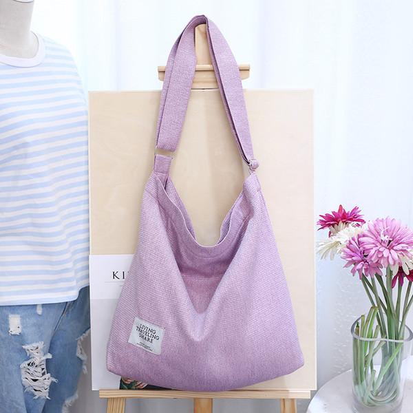 women canvas handbag shoulder bags large tote purse travel messenger hobo bag (528299191) photo