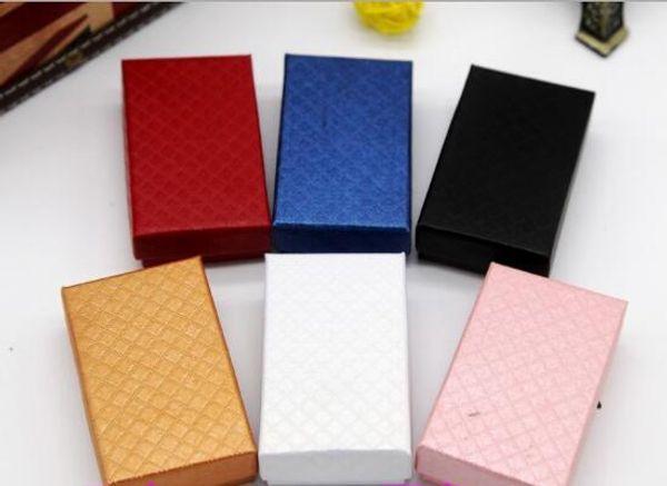 5 * 8 Коробка Ювелирных Изделий Крафт-Бумага Бриллиантовое Колье Кольцо Высокого к фото