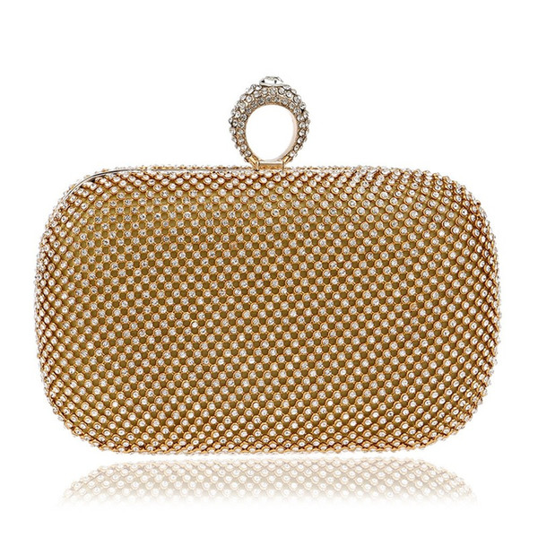 diamond evening bag women's banquet bag fashion evening luxury handbags women bags designer purses and handbags (529036404) photo