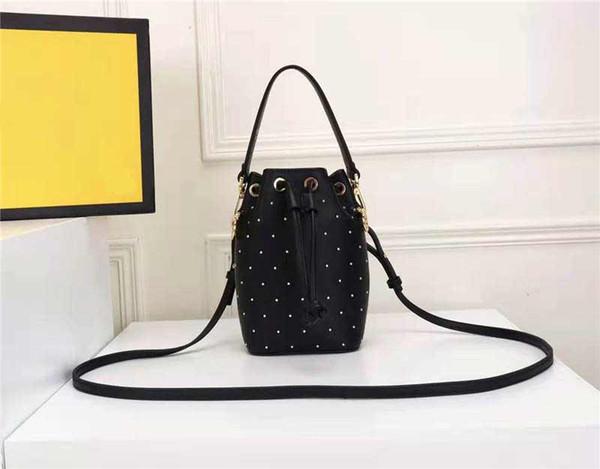designer luxury handbag purses bucket purse fe women designer handbags mini bucket purses genuine leather bag (504451272) photo