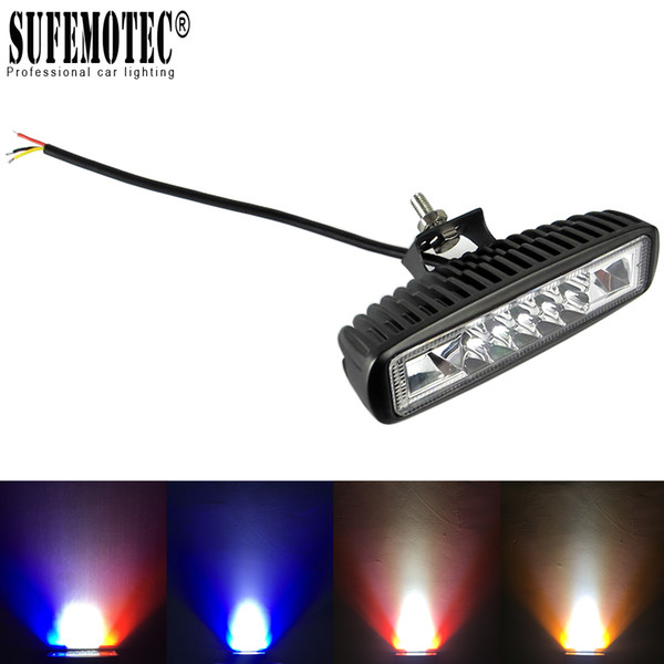 6 inch uper lim mini led bar work light for motorcycle 4x4 offroad car drl ignal lamp external warning daytime running light