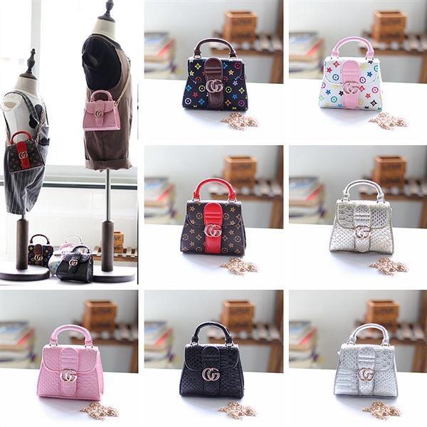 Дети дизайнер сумки 2019 мода корейские девушки мини кошельки кошельки высокое кач фото