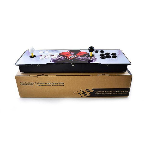 Pandora 2263 game arcade con ole vga hdmi output led lighted acrylic urface replace anwa joy tick pcb board arcade con ole