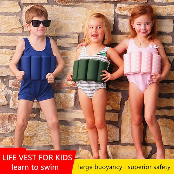 puddle jumper children life vest buoyancy float baby life jacket for swimming surfing pool beach swimwear kids bubble swimsuit