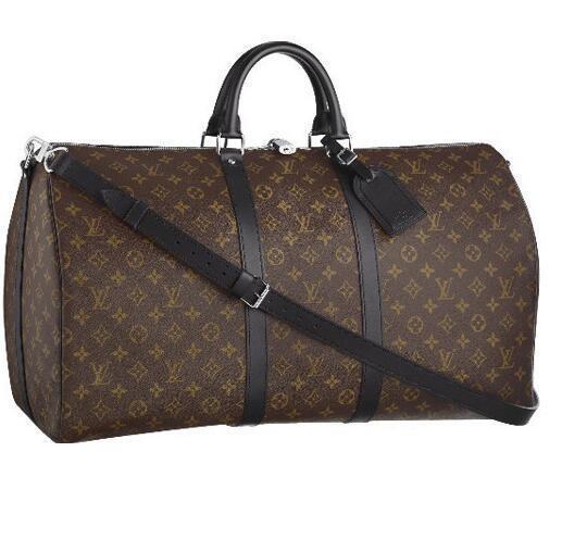 Travel Softsided Luggage Macassar 55 Bag M56714 3838 Totes Handbags Top Handles Boston Cross Body Messenger Shoulder Bags