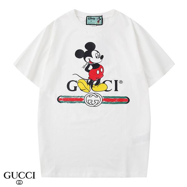 y2020 fashion italy luxury 5D reflection print t-shirts women medusa tees shirts casual tshirt tops men 5d Designer tshirts