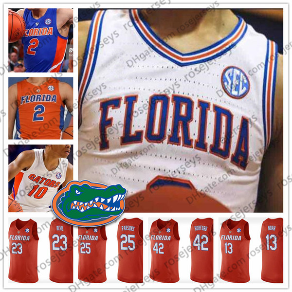 Ncaa florida gator 13 noah 23 beal 25 par on 42 horford 41 walk joakim bradley chandler al neal 2019 retired ba ketball jer ey 4xl