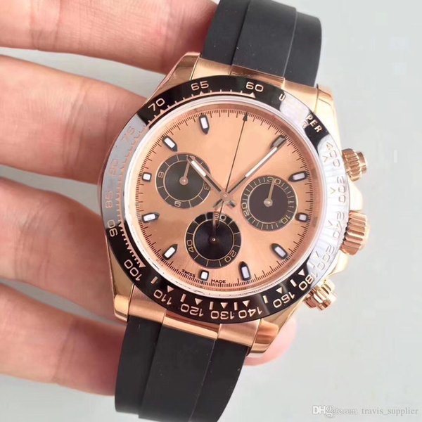 Горячие продажи часы 18CT розовое золото циферблат 40 мм циферблат автоматическое м фото