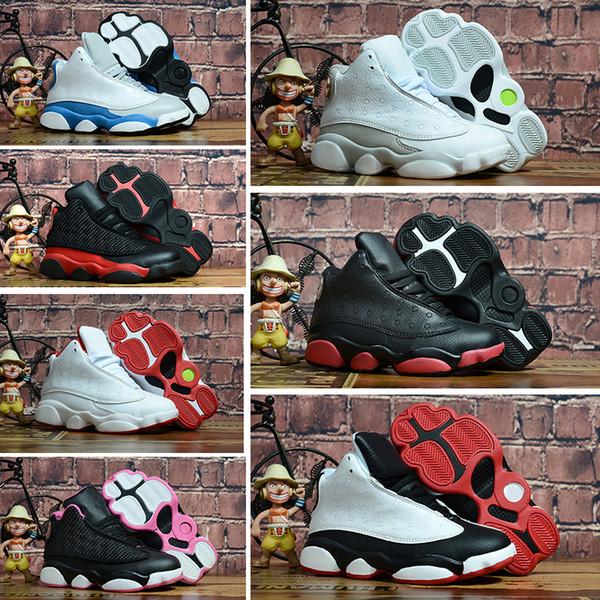 Nike air jordan 13 retro Онлайн продажа дешевые новые 13 дети баскетбол обувь для мальчиков д фото