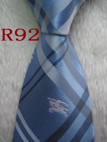 R92 #100%шелк жаккардовые тканые ручной мужской галстук галстук фото