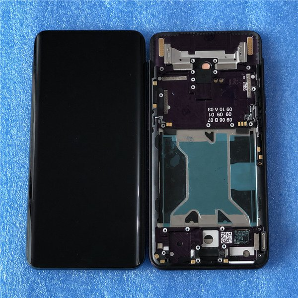 Original axi international for 6 42 quot  oppo find x findx lcd di play  creen with frame and touch panel  creen digitizer a  embly