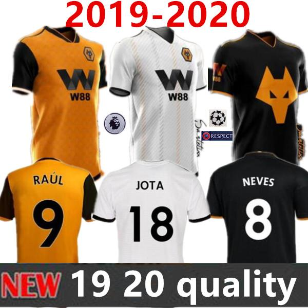 2019 2020 wolverhampton wanderer occer jer ey 19 20 wolve 3rd men doherty cavaleiro co ta diogo j neve home away neve football hirt