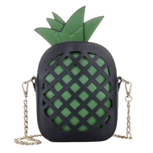 pineapple cross body handbag purse (524292832) photo