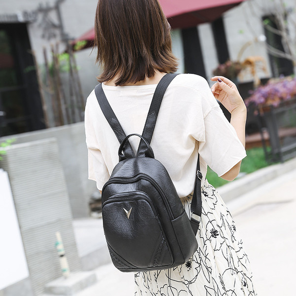 small backpacks purse shoulder-bag multi-function female mini ladies girl new (497703032) photo