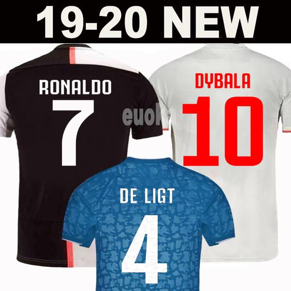 New_2019_ronaldo_juventu___occer_jer_ey_19_20_juve_2020_home_away_dybala_de_ligt_buffon_cami_eta__futbol_cami_a__maillot_football__hirt