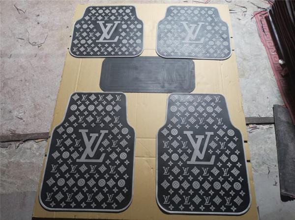 Автомобильный коврик Коврик салона латекс Люкс Эко-нетоксичный коврик для ног дл фото