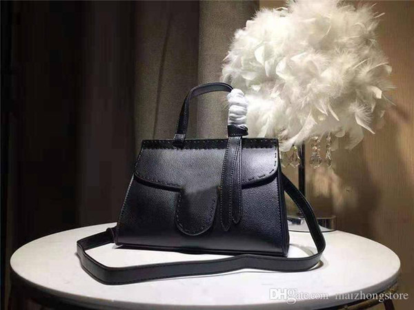 designer luxury handbag purse great quality women handbag fashion totes good purse 2019 new model double hardware purse bag (524769757) photo