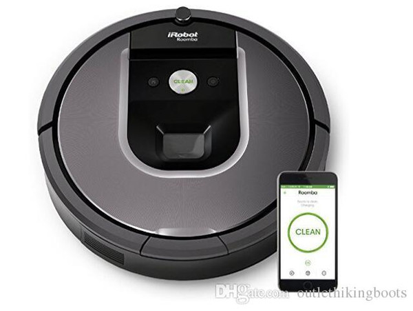 Outlet Discount Irobot Roomba 960 Robot Vacuum With Wi-Fi Connectivity Works With Alexa Ideal For Pet Hair Carpets Hard Floors Hot Sale