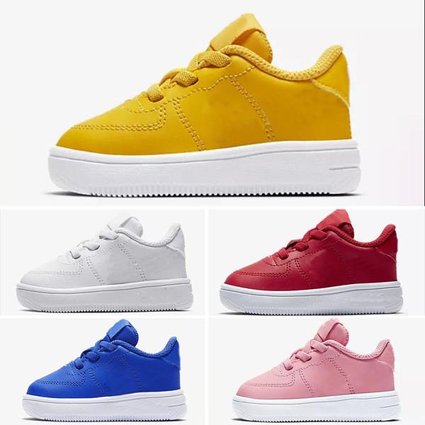 01 2019 New TN Plus Black White Kids Shoes Children's Boy and Girls Ultra TN Running Shoes