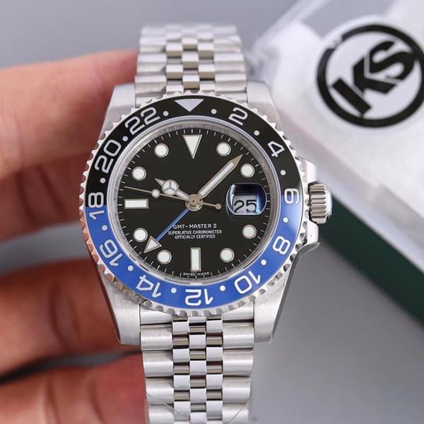 KS 2836 автоматический механический механизм водонепроницаемый reloj de lujo роскошные мужские часы montre de luxe автоматические часы фото
