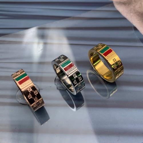 2019 новый бренд ювелирных изделий из нержавеющей стали 18 К серебро золото розовое золото позолоченные зеленые 6 мм кольца anels для женщин мужчин