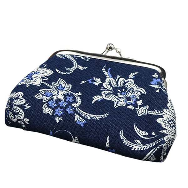 coin purse women purse lady retro vintage small wallet hasp flower clutch bag coin bags#h10 (447641980) photo