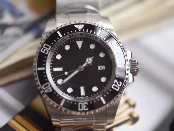 Luxury ar factory 44mm 904l ea dweller 116660 teel wi eta 3135 movement automatic men watch watche