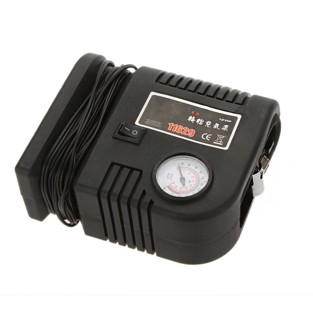 car mini compressor air pump - 250PSI Portable Auto Car Inflatable Pump Air Compressor V Bike Ball Raft Mini Tyre Air Compressor Pumps with Adaptor Kit K1841