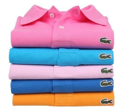 Wholesale 2015 New Arrival Multiple Color Cotton Short Sleeve Polo Shirt T Shirt