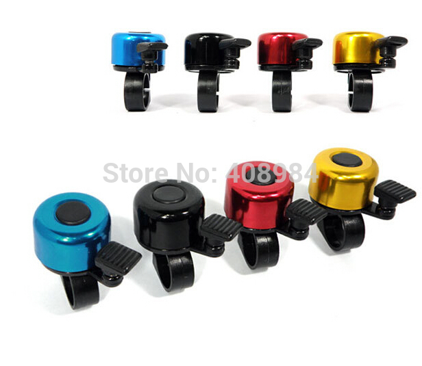 Wholesale Bike Bicycle Cycling Bell Metal Horn Ring Safety Sound Alarm Handlebar Bicycle Bell