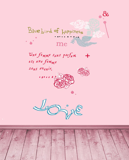 alphabet letter writing - 5x7ft photography backdrops background Pink wood floor pink walls to write letters of the alphabet CM