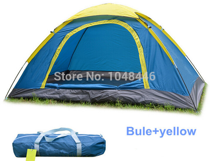 Wholesale Tourist tent double ultra portable rainproof tent camping Family Tent