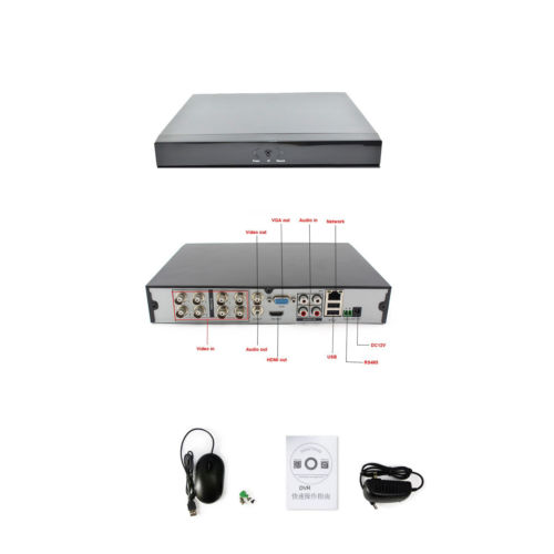 Wholesale 8CH AHD DVR Recorder H P Analog HD Real Time CH Audio in HDMI VGA Output